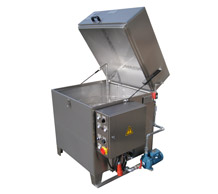 Industrial degreasing washer