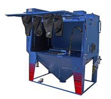 Superload large blasting cabinet