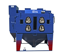 Superload large blasting cabinet